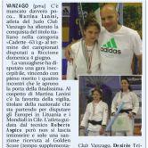 VICE CAMPIONESSA D'ITALIA – LANINI MARTINA – 63 KG – CADETTA